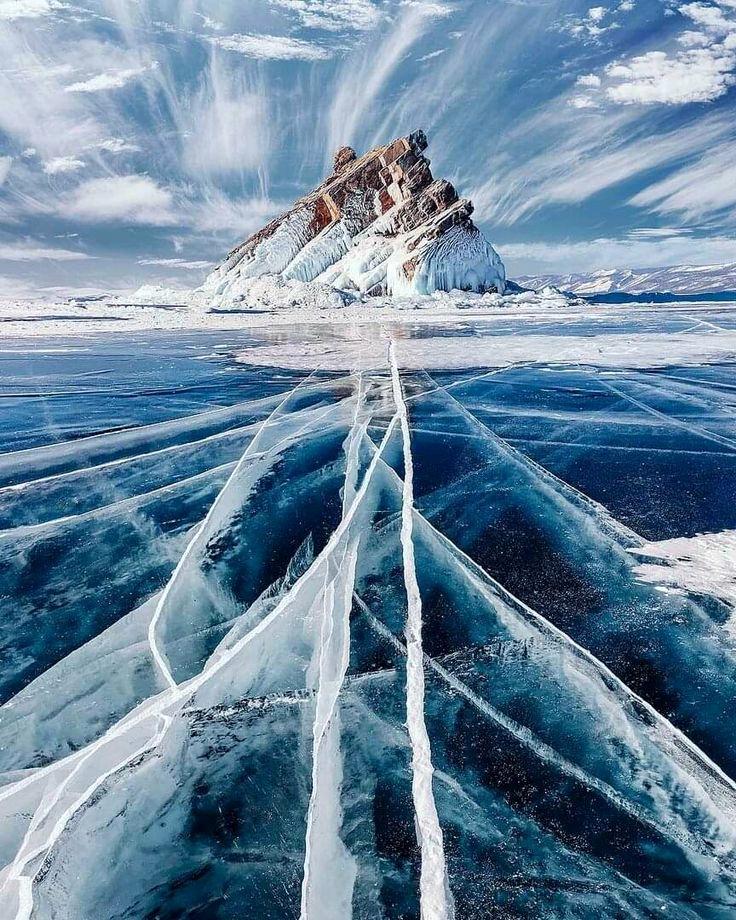 ледяной Байкала
