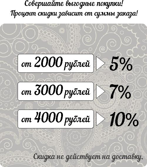 скидки от суммы заказа на товары бренда EnigmaStyle